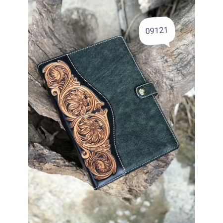 Handmade leathercraft diary, schedule book, journal, notebook