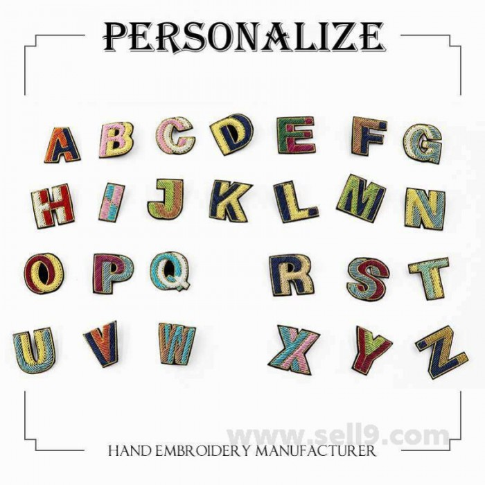 Macon & Lesquoy Custom your letter combinations