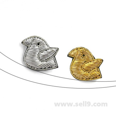 Macon & Lesquoy Gold and silver bird Panoply