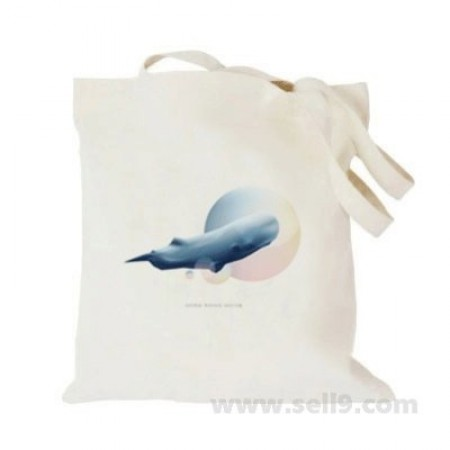 Design Your Own BAG Customized Tote - Add your Picture Photo Text Print  - Blue whale5