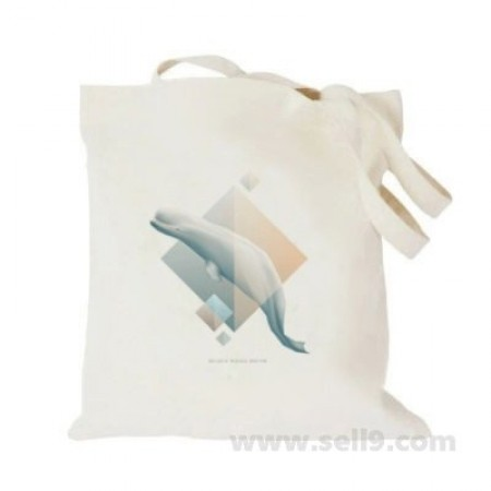 Design Your Own BAG Customized Tote - Add your Picture Photo Text Print  - Blue whale6