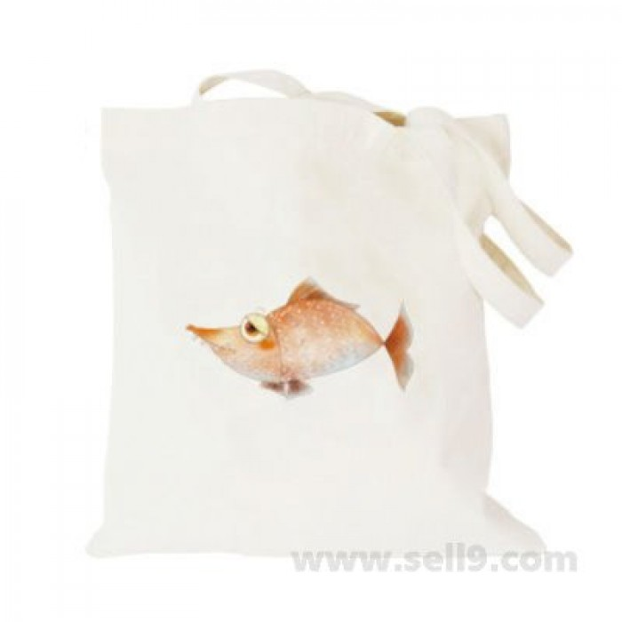 Design Your Own BAG Customized Tote - Add your Picture Photo Text Print  - Golden fish