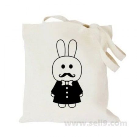 Design Your Own BAG Customized Tote - Add your Picture Photo Text Print  - Mr.rabbit