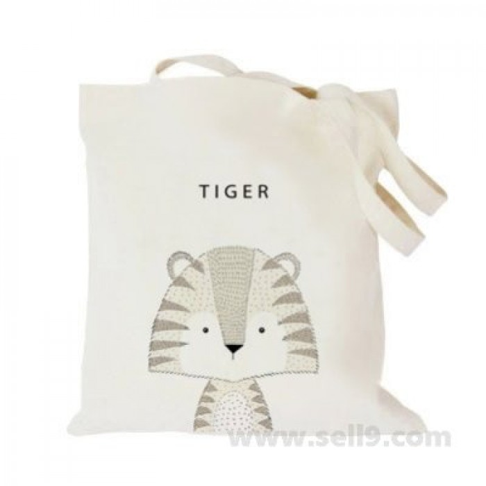 Design Your Own Bag Customized Tote Add Picture Photo Text Print Tiger