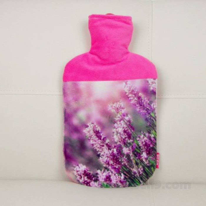 Personalize Hot water bottle sleeve