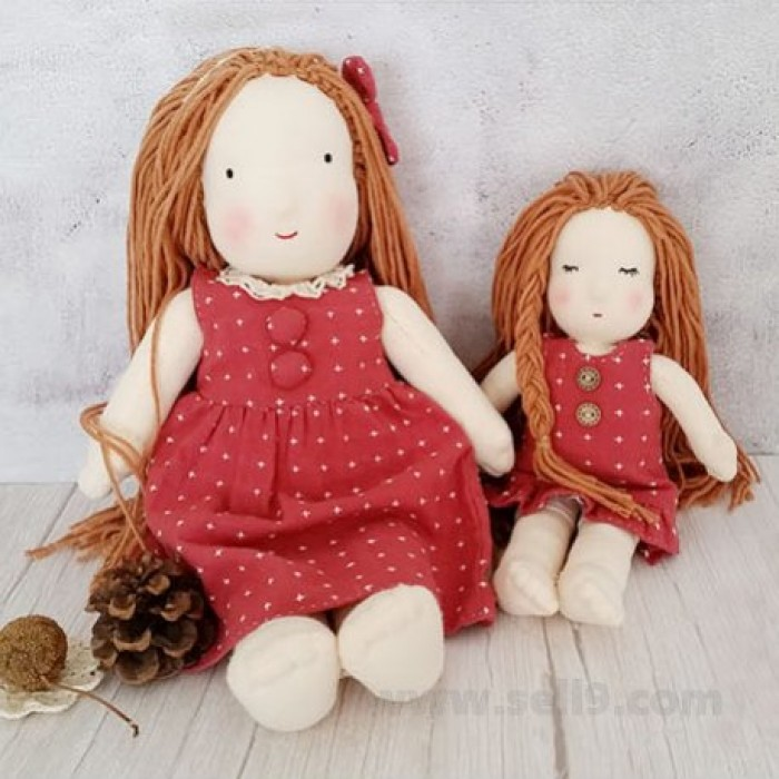 Girl doll diy material kit