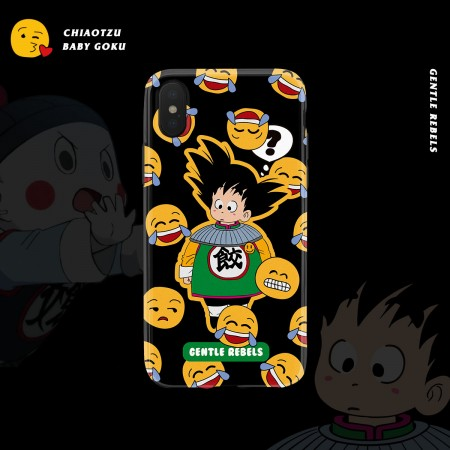 GENTLE REBELS Dragon Ball Goku emoji sand sculpture expression pack XR Apple 7iphonexsmax phone case