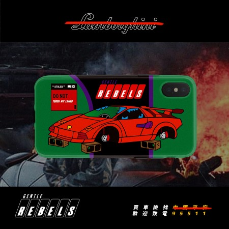 GENTLE REBELS Spoof Tide brand sports car sand sculpture steam wave cool XR Apple iphonexsmax phone case