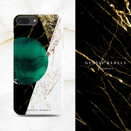 GENTLE REBELS marble iphone 11pro max mobile phone shell Nordic emerald INS apple x